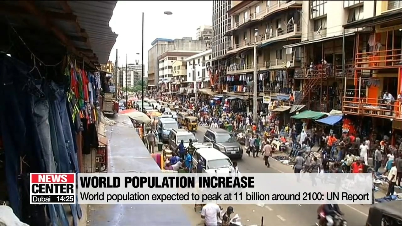 World population expected to peak at 10.9 billion around 2100: UN Report