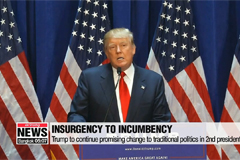 From insurgency to incumbency, Trump has more 'shaking up to do' as he sets out to win 2nd term