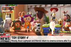 Toy Story has returned! Closer