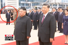 Attendees at Kim-Xi summit sug