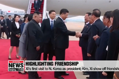 N. Korea, China hail Xi's trip