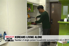 Number of single-person households expected to keep increasing: data