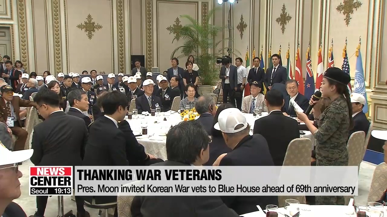 Pres. Moon vows to create a peaceful, war-free Korean peninsula