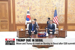 Trump may visit demilitarized zone separating two Koreas during his visit to Seoul