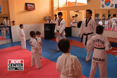 Taekwondo classes in Honduras are looking to expand