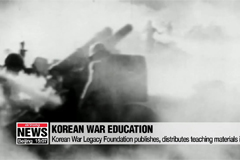 Korean War Legacy Foundation publishes, distributes teaching materials in U.S.