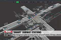 Seoul's subway line no. 2 to introduce 'smart' stations