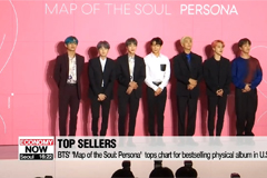 BTS' 'Map of the Soul: Persona'  tops chart for bestselling physical album in U.S. in H1