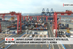 Japan's export curbs and impact on South Korea