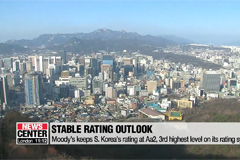 Moody's keeps South Korea's rating at Aa2 with stable outlook