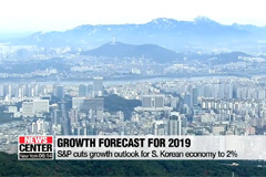 S&P cuts growth outlook for S. Korea's economy to 2% from 2.4%