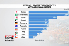 S. Korea's 54-year trade deficit with Japan exposes heavy dependence