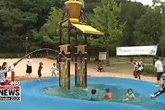 Seoul city offers free public water facilities this summer