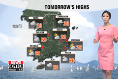 Rain continues into the weekend in the capital and Jeju