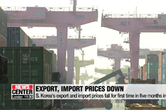 S. Korea's export and import prices fall for first time in five months in June