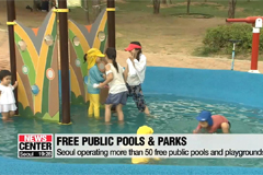 Seoul opens free public water facilities this summer