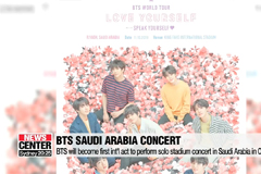BTS will become first int'l act to perform solo stadium concert in Saudi Arabia in October