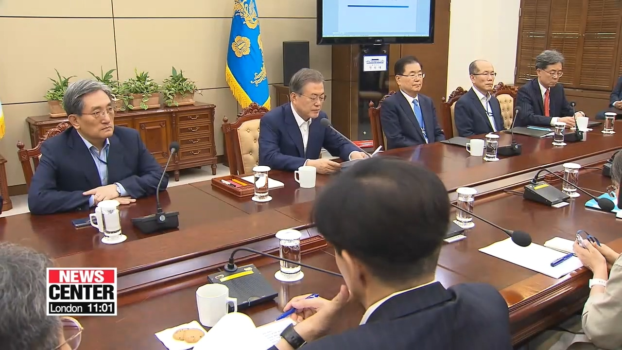 Moon warns Japan for its 'unwise' action against S. Korea and calls on Tokyo to return to negotiating table