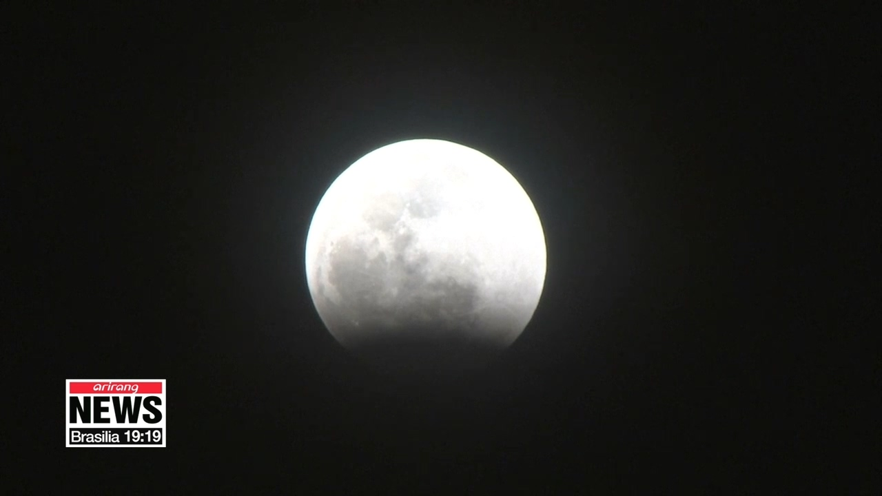 Partial lunar eclipse to be visible from much of the world on Tuesday and Wednesday
