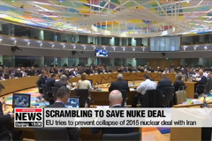 EU works to save unraveling nuclear agreement with Iran