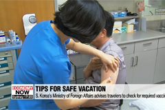 Ministry of Foreign Affairs advises travelers to check for required vaccines