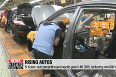 S. Korean auto production and exports grow in H1 2019, backed by new SUV models