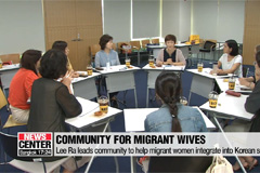 Migrant women in Korea helping others find their Korean dream