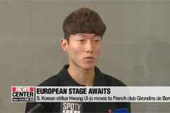 S. Korean striker Hwang Ui-jo leaves to join his new club Bordeaux with high expectation