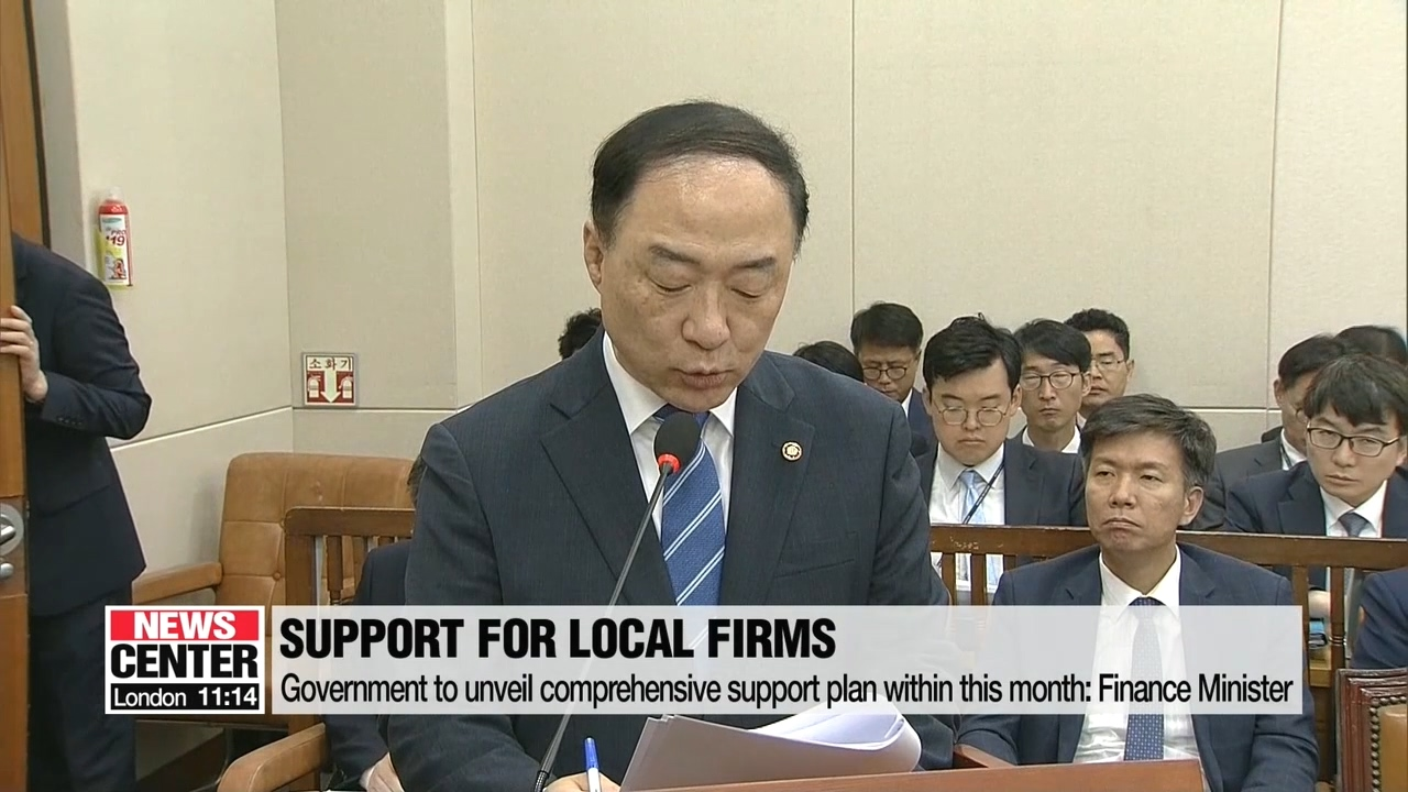 S. Korean government to unveil support plan to tackle Japan's trade restrictions this month