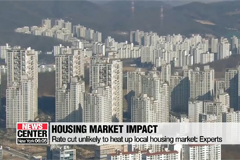 BOK's rate cut unlikely to heat up housing market: Experts