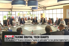G7 finance ministers 'agree in principle' to tax global digital tech giants