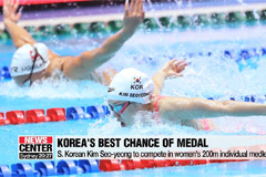 S. Korean swimmer Kim Seo-yeong to compete in women's 200m IM final