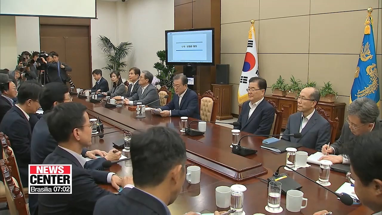 Moon says Koreans they can overcome challenges of Japan's export restrictions