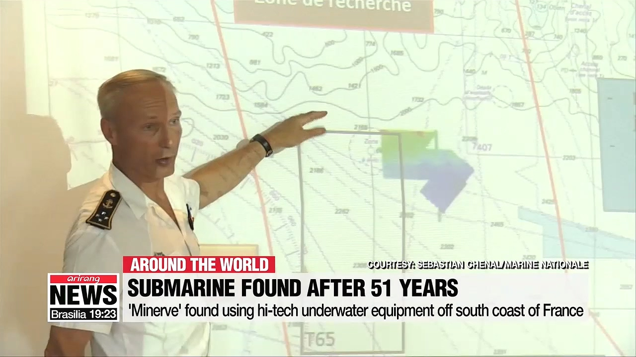 Lost French submarine found after 51 years