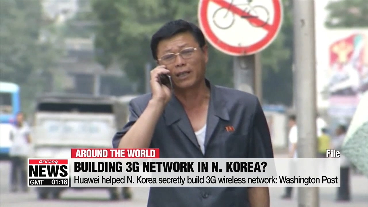 Huawei helped N. Korea secretly build 3G wireless network: Washington Post
