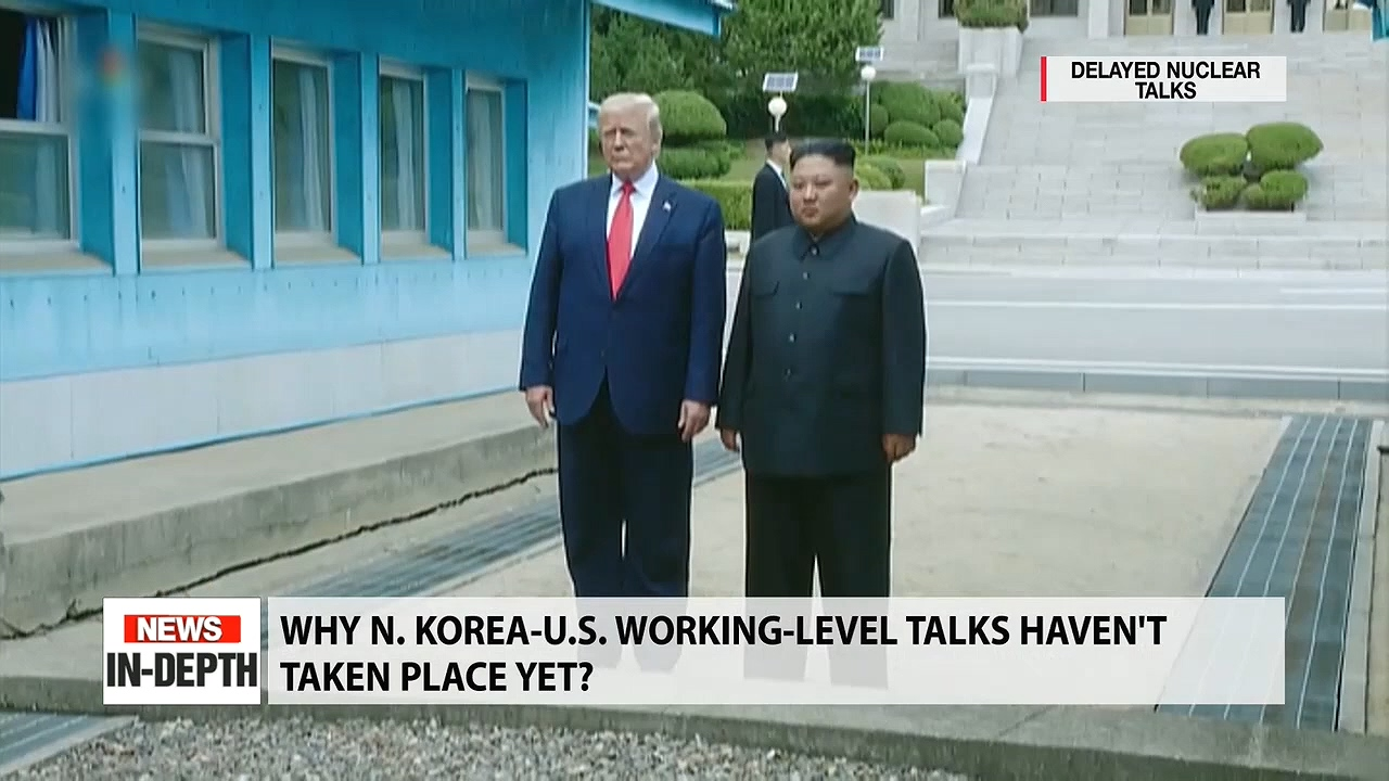 Delayed North Korea-U.S. working level talks