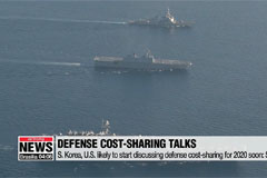 S. Korea, U.S. likely to start discussing defense cost-sharing for 2020 soon: Source