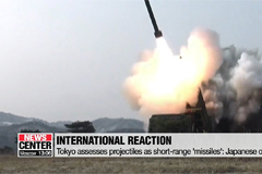 U.S., Japan confirm N. Korea's firing of short-range projectiles