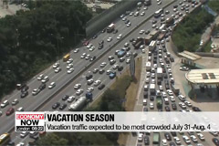 Vacation traffic expected to be most crowded July 31-Aug. 4