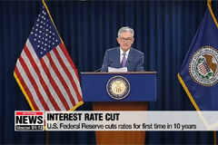 U.S. Federal Reserve cuts rates for first time in 10 years