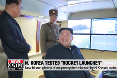 N. Korea says it test-fired new multiple-launch guided rocket system, not ballistic missiles