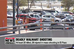 At least 20 people killed in mass shooting at Texas Walmart