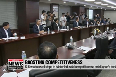 S. Korea to reveal steps to bolster industrial competitiveness amid Japan's trade curbs