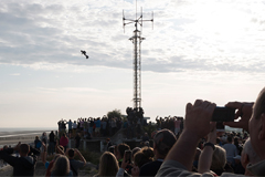 French 'flying man' succeeds in crossing English Channel with his own fly board