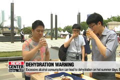Excessive alcohol consumption can lead to dehydration on hot summer days: Experts
