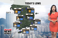 Heat pounds as Typhoon Francisco is due to hit Korea