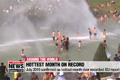 July 2019 confirmed as hottest month ever recorded: EU report