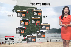 Typhoon Francisco on its way, heat alerts remain in effect