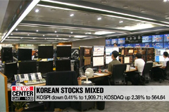 Kospi continues to slide as Kosdaq recovers 2.38%