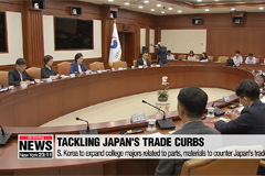 S. Korea to expand college majors related to parts, materials to counter Japan's trade curbs